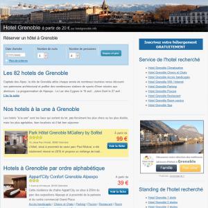 Hôtel Grenoble : Réserver un hôtel à Grenoble