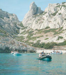 Rallye zodiac au départ de Marseille