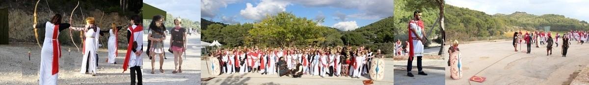 Jeux romains en bordure de méditerranée